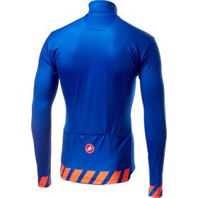 Castelli Pisa Maillot entièrement zippé Homme, surf blue